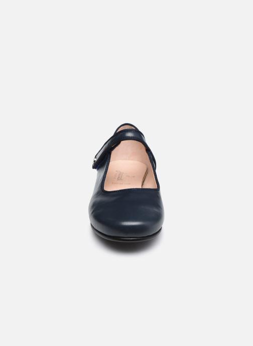 Ballerines Jacadi Danelle Bleu vue portées chaussures