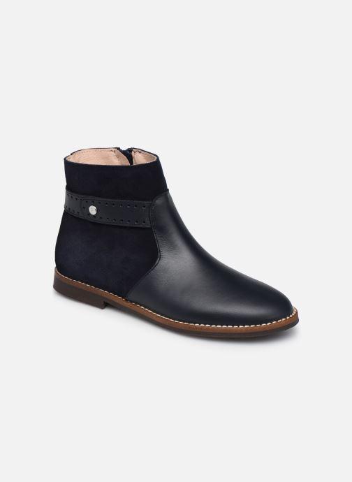 Bottines et boots Jacadi Cavaline Bleu vue détail/paire