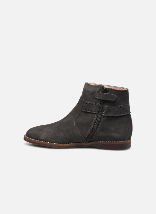 Stiefeletten & Boots Jacadi Cavaline grau ansicht von vorne