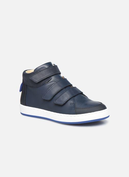 Baskets Jacadi Come Bleu vue détail/paire