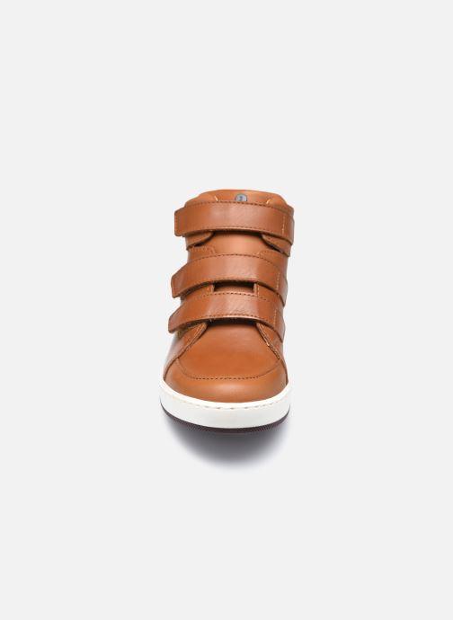 Baskets Jacadi Come Marron vue portées chaussures