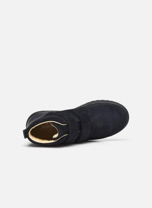 Sneakers Jacadi Lasagne Azzurro immagine sinistra