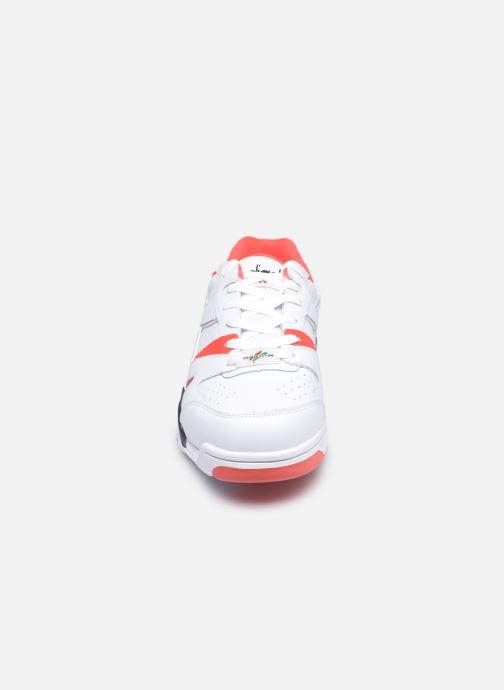 Sneaker Diadora Cross Trainer Dx weiß schuhe getragen