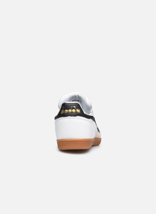 Baskets Diadora Gold Indoor Blanc vue droite