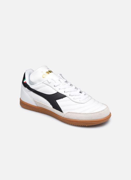 Baskets Diadora Gold Indoor Blanc vue détail/paire