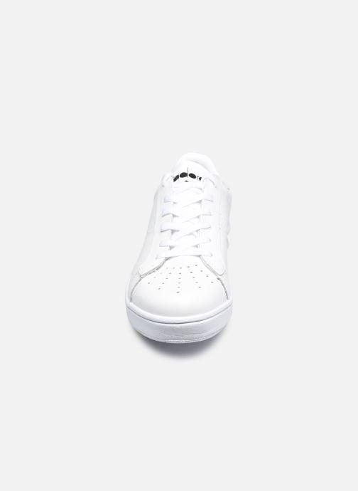 Baskets Diadora Martin Blanc vue portées chaussures
