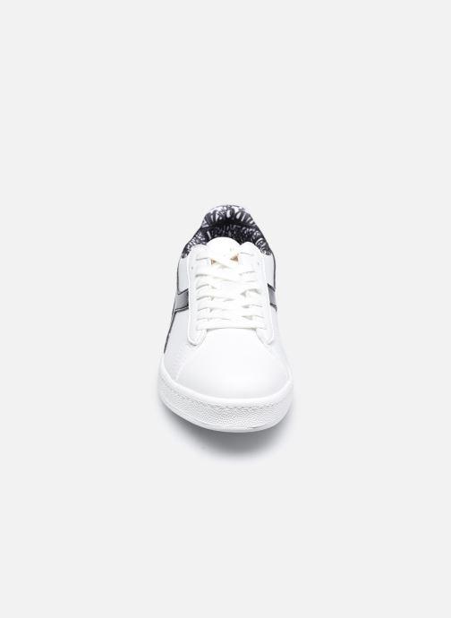 Sneaker Diadora Game Charm Wn weiß schuhe getragen