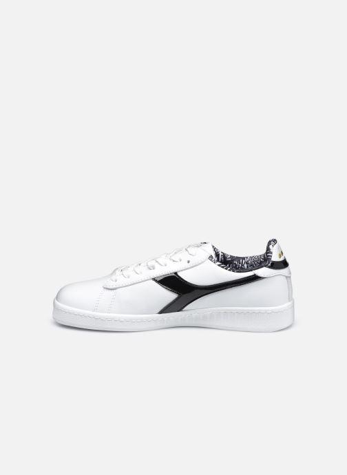 Sneaker Diadora Game Charm Wn weiß ansicht von vorne