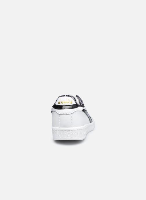 Sneaker Diadora Game Charm Wn weiß ansicht von rechts
