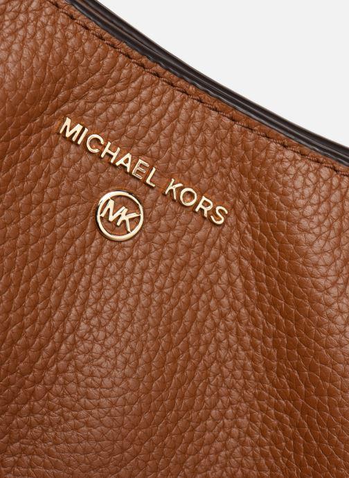 Sacs à main Michael Michael Kors CARRIE LG SHLDR TOTE Marron vue gauche