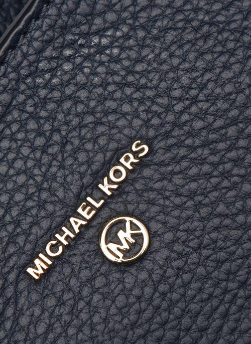 Sacs à main Michael Michael Kors CARRIE MD CONV MSGR Bleu vue gauche