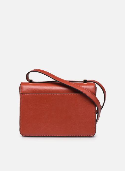 Handtaschen Michael Michael Kors HENDRIX XS CONV XBODY orange ansicht von vorne