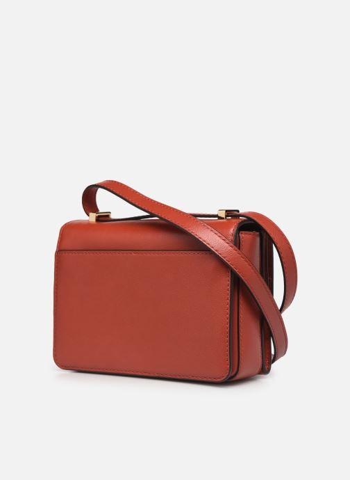 Handtaschen Michael Michael Kors HENDRIX XS CONV XBODY orange ansicht von rechts