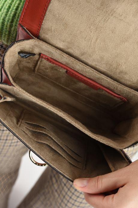 Handtaschen Michael Michael Kors HENDRIX XS CONV XBODY orange ansicht von hinten