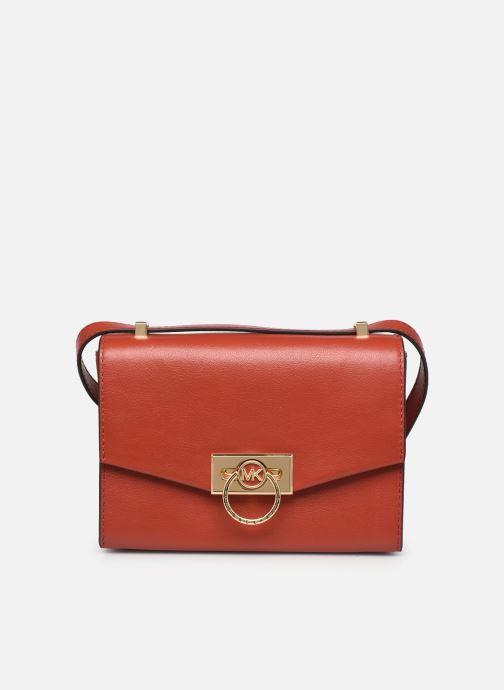 Handtaschen Michael Michael Kors HENDRIX XS CONV XBODY orange detaillierte ansicht/modell