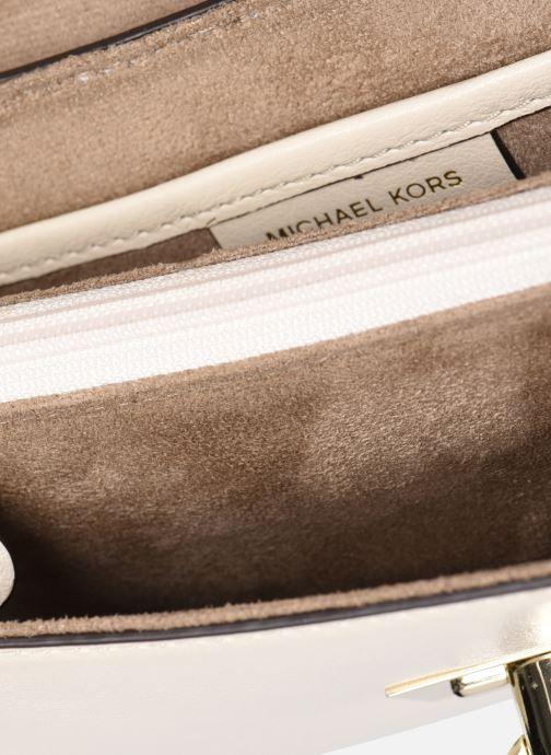 Handtaschen Michael Michael Kors HENDRIX LG POUCHETTE beige ansicht von hinten