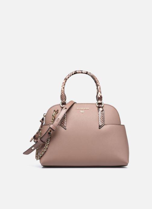 Handtaschen Michael Michael Kors HUDSON SM DOME SATCHEL rosa detaillierte ansicht/modell