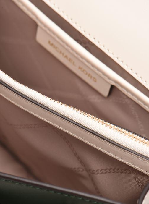 Handtassen Michael Michael Kors JADE LG GUSSET SHLDR Groen achterkant