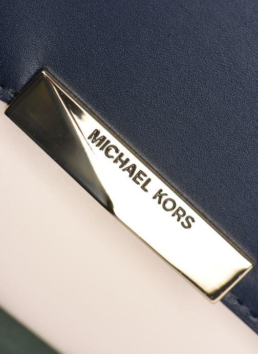 Bolsos de mano Michael Michael Kors JADE LG GUSSET SHLDR Verde vista lateral izquierda