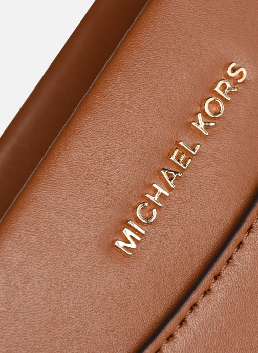 Bolsos de mano Michael Michael Kors JET SET LG CONV CHAIN XBODY Marrón vista lateral izquierda