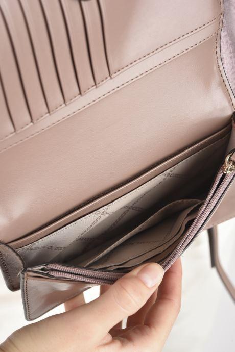 Portemonnaies & Clutches Michael Michael Kors JET SET SM TH PHONE XBODY rosa ansicht von hinten