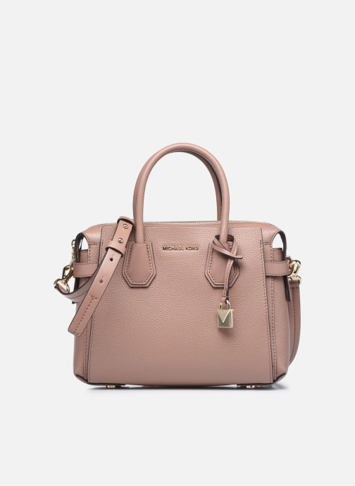Handtaschen Michael Michael Kors MERCER BELTED SM SATCHEL rosa detaillierte ansicht/modell