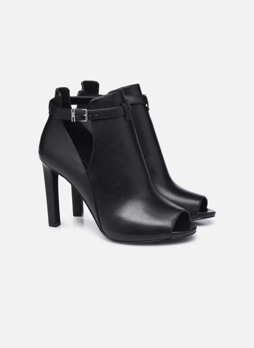 Zapatos de tacón Michael Michael Kors LAWSON OPEN TOE Negro vista 3/4