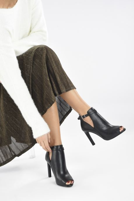 Zapatos de tacón Michael Michael Kors LAWSON OPEN TOE Negro vista de abajo