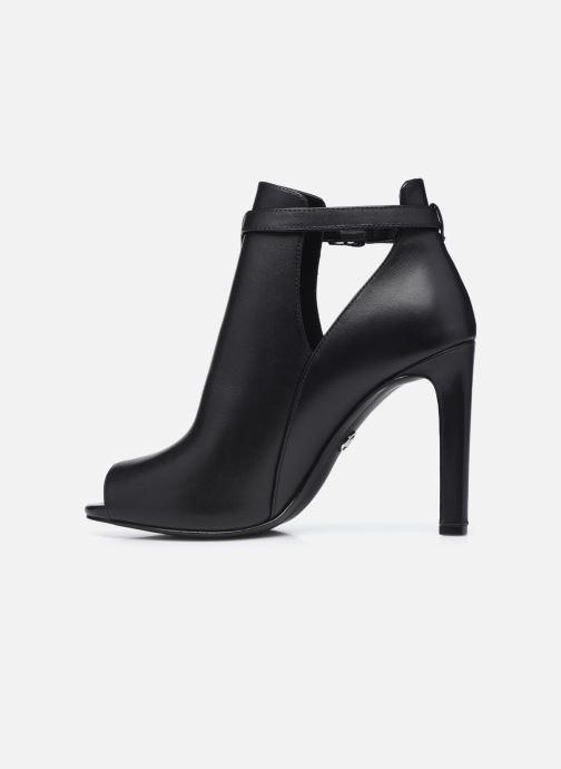 Zapatos de tacón Michael Michael Kors LAWSON OPEN TOE Negro vista de frente