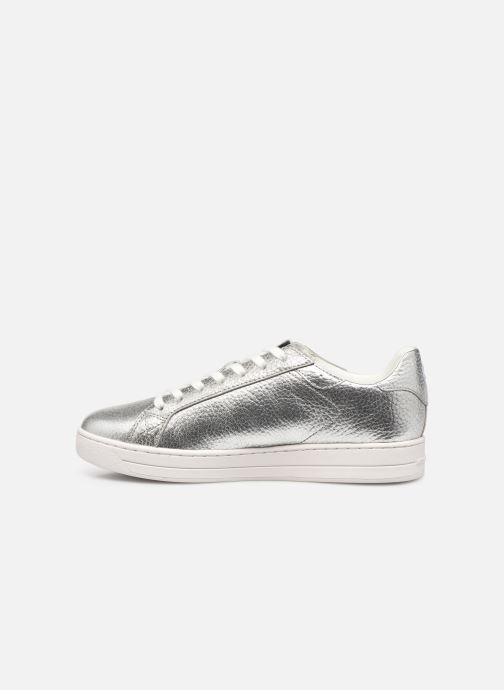 Sneakers Michael Michael Kors KEATING LACE UP Zilver voorkant