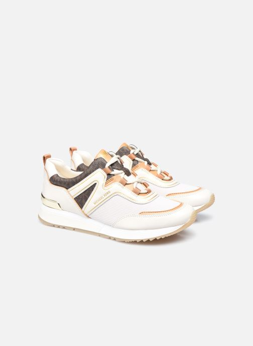 Sneakers Michael Michael Kors PIPPIN TRAINER Beige immagine 3/4