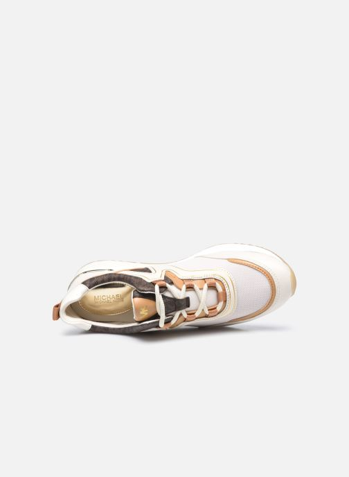 Sneakers Michael Michael Kors PIPPIN TRAINER Beige immagine sinistra