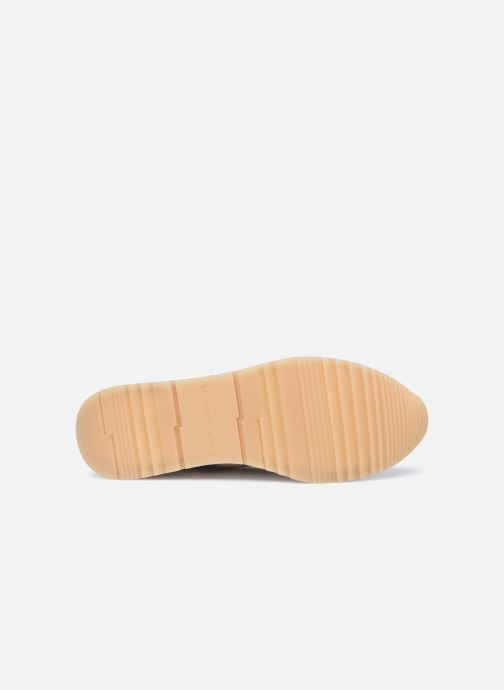 Baskets Michael Michael Kors PIPPIN TRAINER Beige vue haut