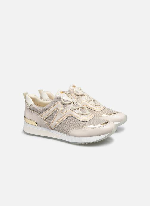 Sneakers Michael Michael Kors PIPPIN TRAINER Beige immagine 3/4