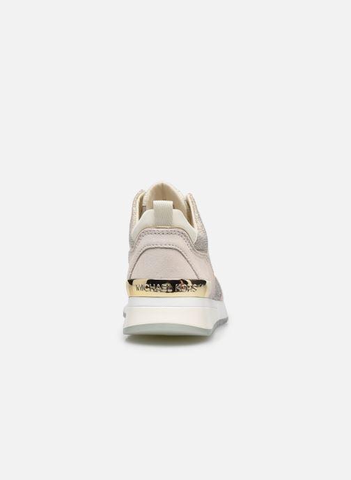 Sneakers Michael Michael Kors PIPPIN TRAINER Beige immagine destra