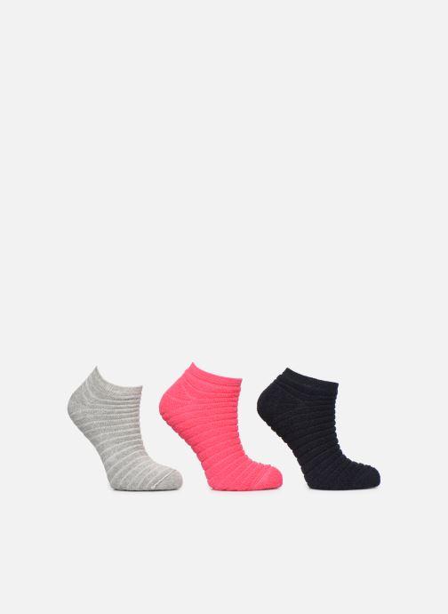 Chaussettes et collants Sarenza Wear Lot de 3 paires de chaussettes soquettes Femme Multicolore vue détail/paire