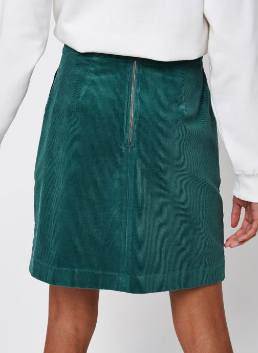 Vêtements Louche Krisa Vert vue portées chaussures