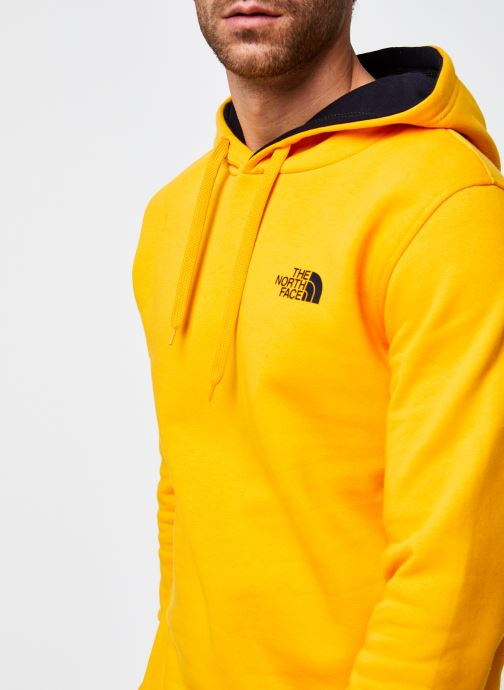 Vêtements The North Face M Seasonal Drew Peak Pullover Jaune vue face
