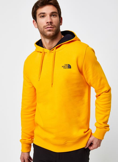 Vêtements The North Face M Seasonal Drew Peak Pullover Jaune vue droite