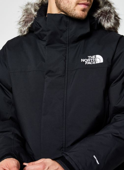 Kleding The North Face M Recycled Mcmurdo Zwart voorkant