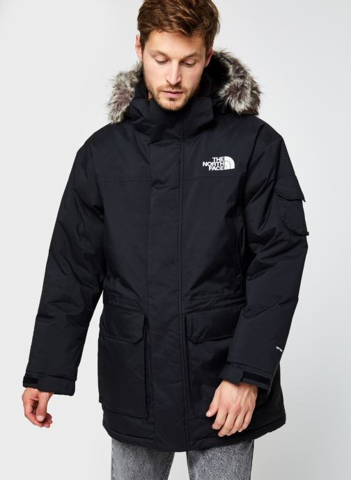 Kleding The North Face M Recycled Mcmurdo Zwart rechts