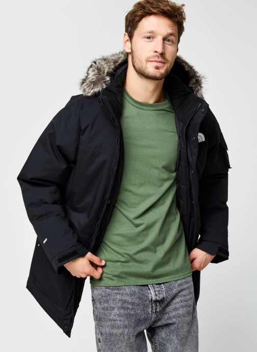 Kleding The North Face M Recycled Mcmurdo Zwart detail