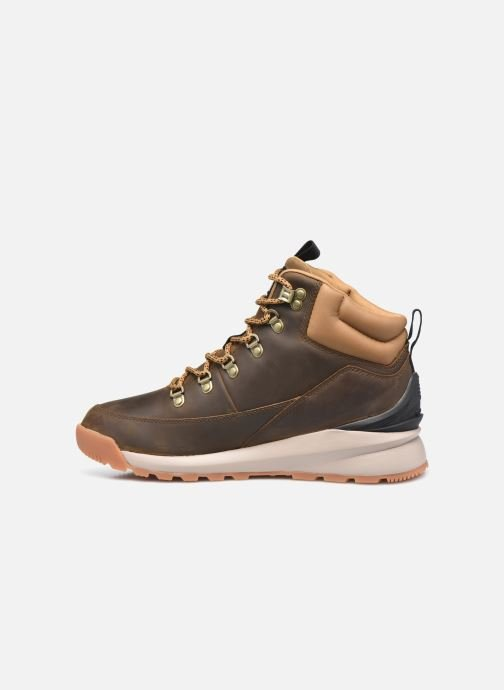 Chaussures de sport The North Face Back-To-Berkeley Mid Wp Marron vue face