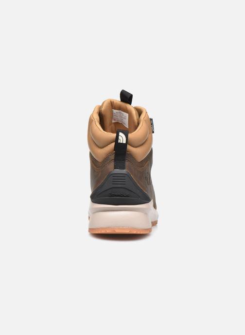 Chaussures de sport The North Face Back-To-Berkeley Mid Wp Marron vue droite