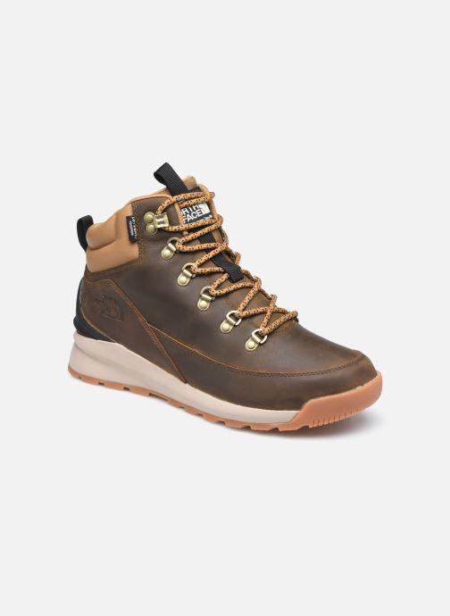 Chaussures de sport The North Face Back-To-Berkeley Mid Wp Marron vue détail/paire
