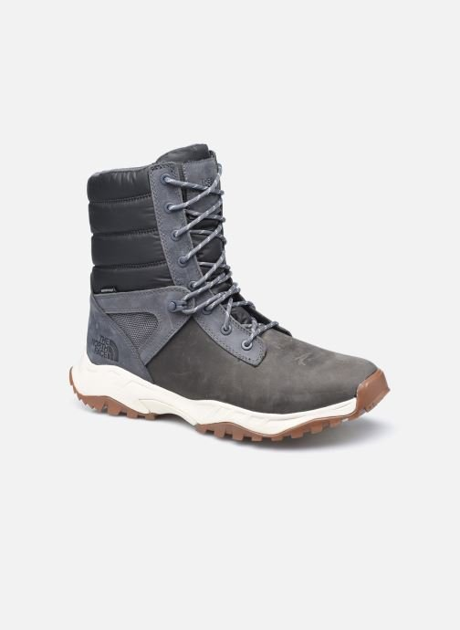 Bottes The North Face Thermoball Boot Zip-Up Gris vue détail/paire
