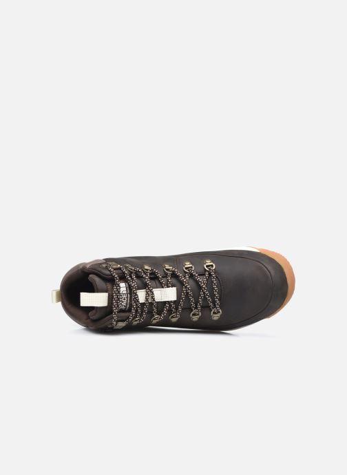 Zapatillas de deporte The North Face Back-To-Berkeley Mid Wp Marrón vista lateral izquierda