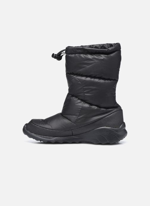 Zapatillas de deporte The North Face Nuptse Bootie 700 Negro vista de frente