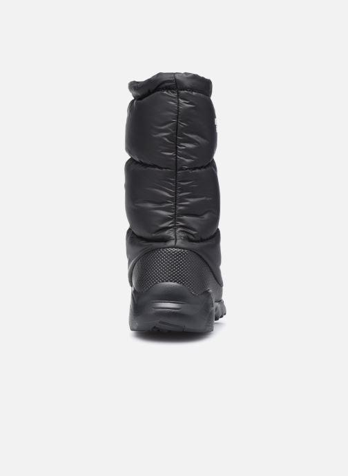 Zapatillas de deporte The North Face Nuptse Bootie 700 Negro vista lateral derecha