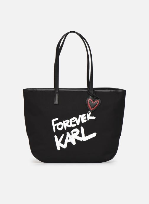 Karl Forever Canvas Shopper